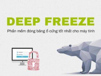 Deep Freeze Standard - phần mềm đóng băng ổ cứng máy tính