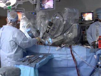 Phẫu thuật nội soi bằng robot cho bệnh nhân tại bệnh viện K