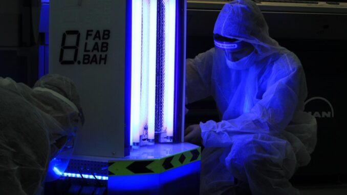 TPA-UV Robot khử khuẩn diệt virus hiệu quả